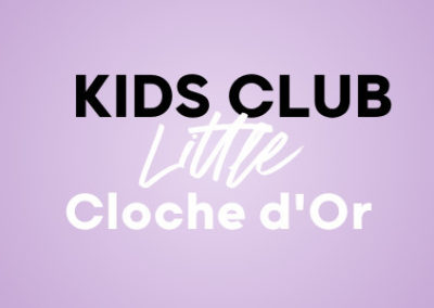 Fête d'anniversaire au Kids Club Little Cloche d'Or